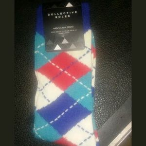 Collective souls crew socks for men_size 8-13